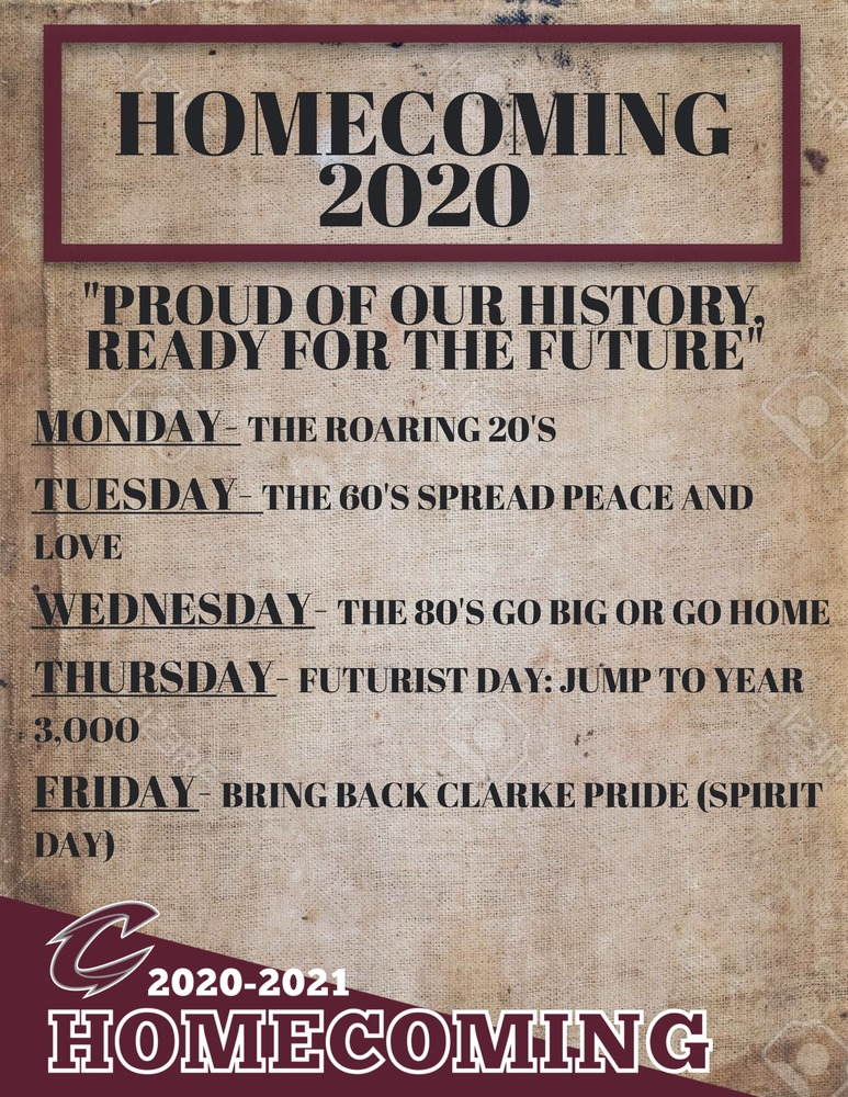 Homecoming 2020 Themes