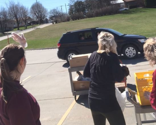 Clarke meal distribution sites provide food and connection