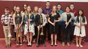 Congratulations SCC Honor Band Participants!