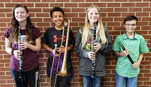 Clarke SCIBA Honor Band Participants