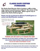 Clarke Band Uniform Fundraiser
