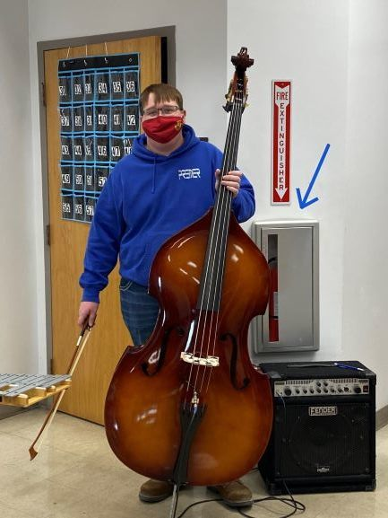 Guy Billington and the new string bass