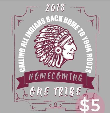 Homecoming t-shirt image
