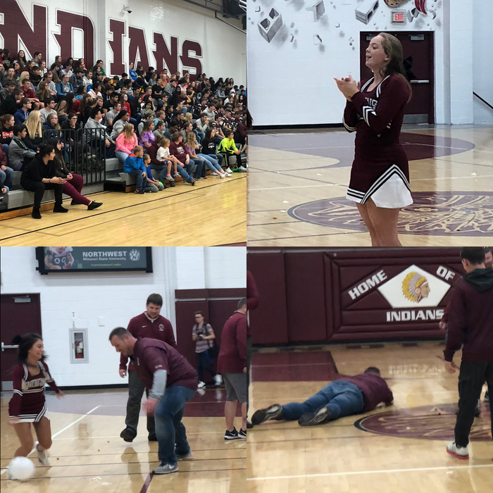 Pep Assembly 10/11/2018