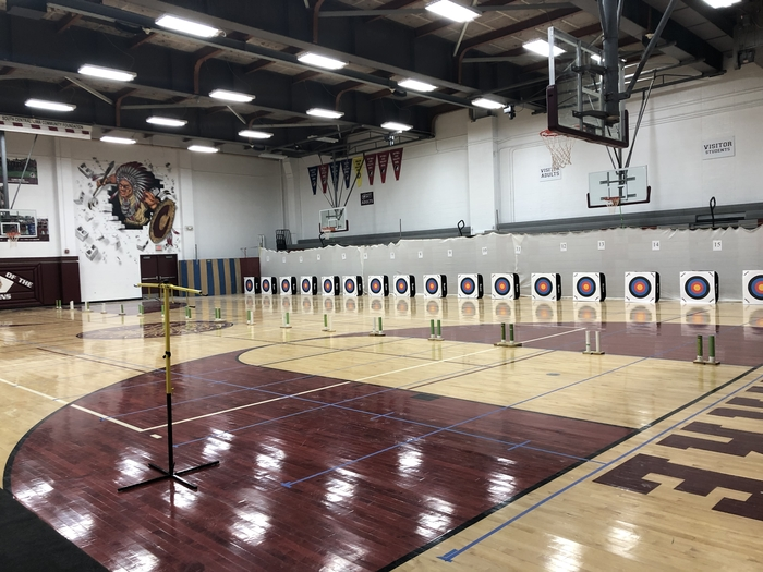 First archery tournament