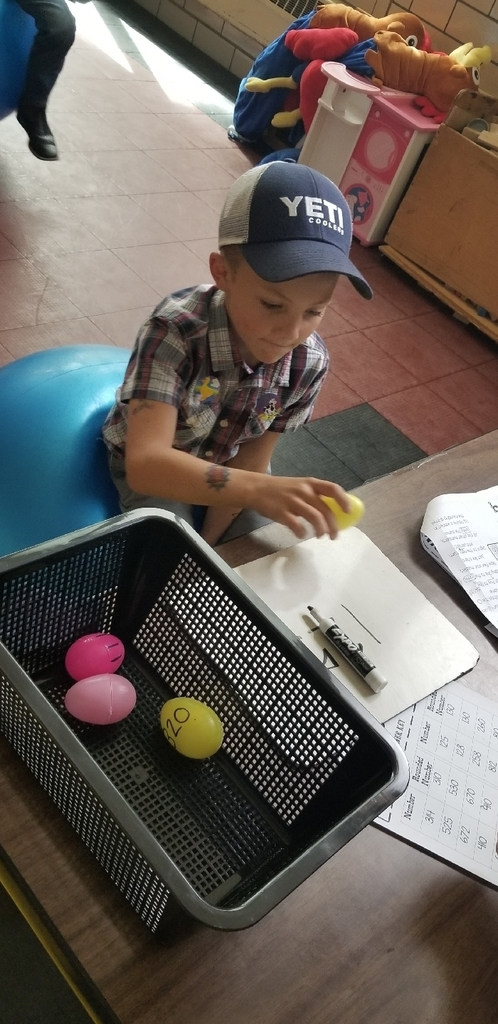 "Carter rides the ""chicken"" to deliver a rounding egg to its correct nest!!"