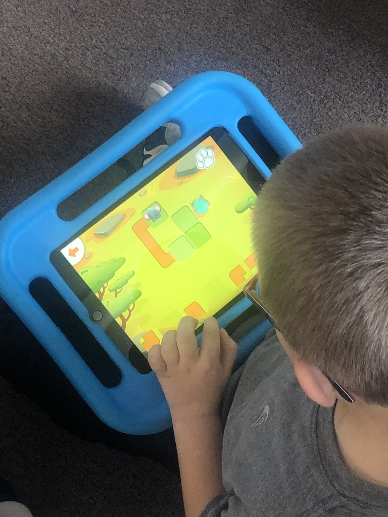 Coding starts in kindergarten with the basics!