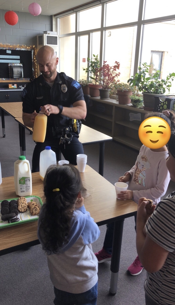 Cookies with a Cop!